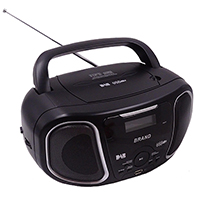 MP3/CD Player DAB/FM 2 BAND RADIO with CLOCK SET