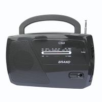 Portable M/FM/WB 2 Band Radio With Speaker With Weather Band