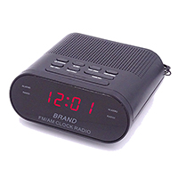 AM/FM Alarm Clock Radio