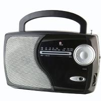 PORTABLE AM/FM/WB 2 BAND RADIO WITH SPEAKER WITH WEATHER BAND